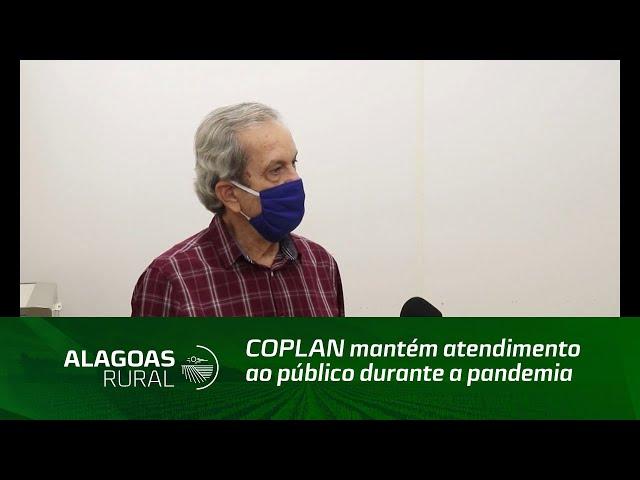 COPLAN mantém atendimento ao público durante a pandemia