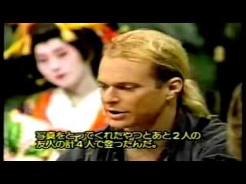 David Lee Roth - Just Like Paradise & Interview - Japan - 1988