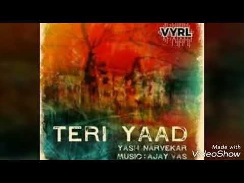 Teri Yaad || Yash Narvekar || heart touching latest track