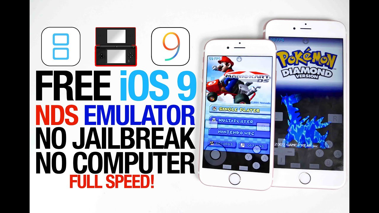 iphone 6 emulator how to get nintendo ds emulator on ios 9 free nds4ios no 11329