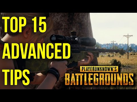 15 ADVANCED Tips To Help You Win In BATTLEGROUNDS