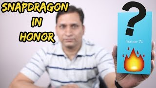 Honor 7C Unboxing & First Look