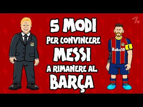 Ecco come Messi potrebbe RIMANERE al Barça! ► OneFootball X 442oons