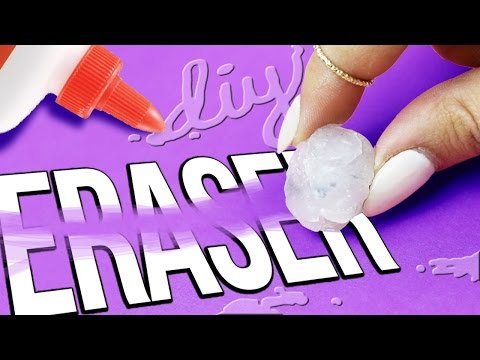 diy eraser slime liquid eraser erase with slime  doovi