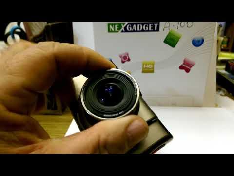 Dash Cameras - Nexgadget A100+ Review.