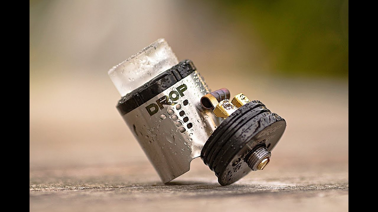 The Near Perfect Rda  The Drop Rda By The Vapor Chronicles