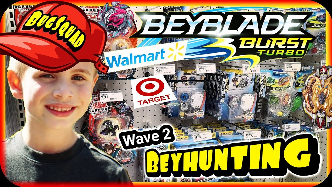 Beyblade Burst Turbo Toy Hunting at Target & Walmart - The Search for Wave  2 - BEYHUNTING