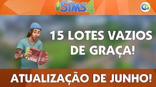 The Sims 4 - NOVAS VIZINHANÇAS DE GRAÇA!