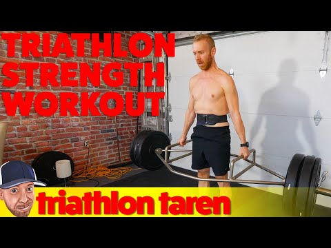 3-Month Triathlon Strength Training Program With Demonstrations of All Exercises