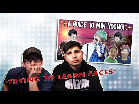 GUYS REACT TO BTS 'An Introduction to BTS: Suga Version'