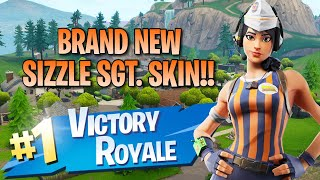 Nouveau Sizzle Sgt. Skin! 11 Elims! - Fortnite: Jeu De Battle Royale