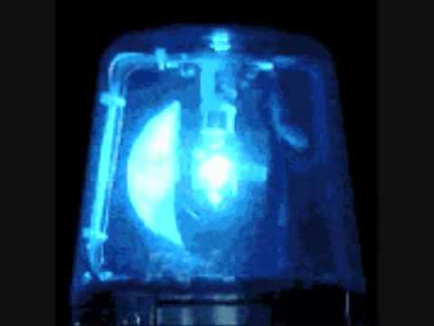 Polizei Sirene mit Blaulicht (Handy)