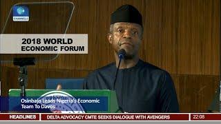 2018 WEF: Osinbajo Leads Nigeria