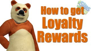 How to Get The Sims Mobile and Sims 4 Loyalty Rewards - Bear Costume!
