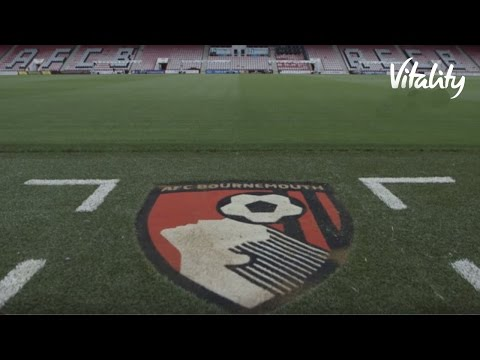 Launch of Vitality Stadium with AFC Bournemouth | Vitality UK
