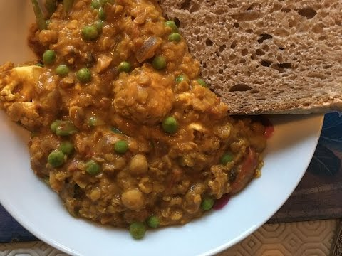 Easy Vegan Lentil Curry - Slimming World - SP Friendly