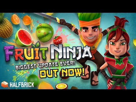 FRUIT NINJA REBORN! New Characters, Powers & MORE!