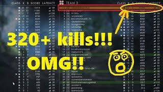 Battlefield 1: Spectating a Hacker in Multiplayer | A Hacker kills 320 using Aim Bot | BF1 Cheater