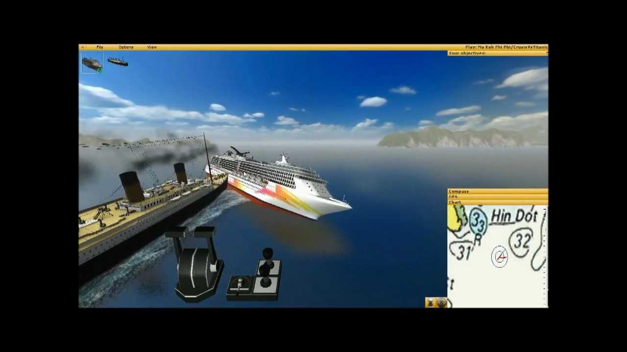 Titanic Vs Cruise Ship YouTube - Titanic cruise ship comparison