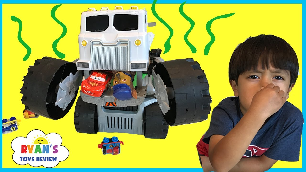 Toy Trucks For Children Matchbox Stinky The Garbage Truck