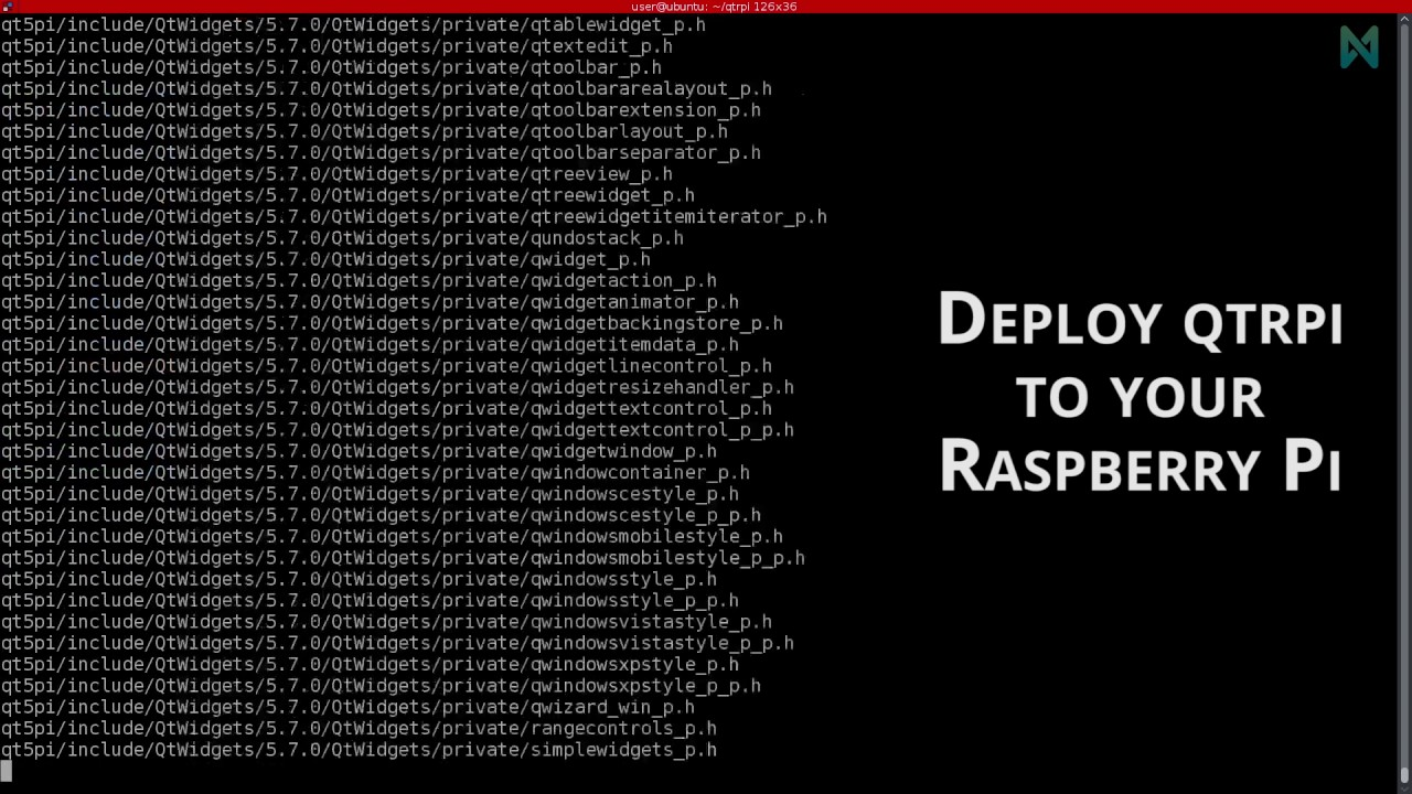 Cross-compile Qt applications for your Raspberry Pi 3 - 1  Install QtRpi  from scratch