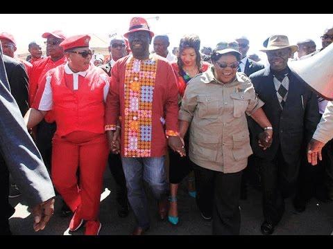 Zimbabwe's Tsvangirai teams with Mujuru to oust Mugabe