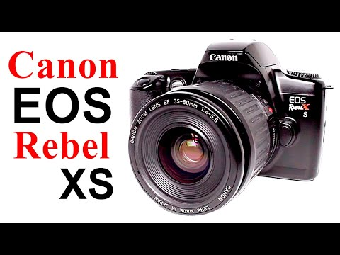 How To Use Canon EOS Rebel X S Film Camera, EOS Kiss, EOS 500 (Beginners Quick Guidel)