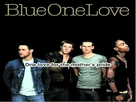 Blue  One Love Instrumental  Karaoke