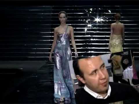 Tony Ward Couture fashion show and interview