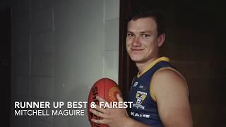 2019 Runner Up Best & Fairest: Mitch Maguire