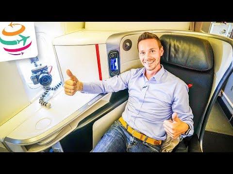 Air France NEUE Business Class Boeing 777-200ER   GlobalTraveler.TV
