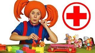 """ПОИГРАЙКА - Доктор Царевна - Развивающее видео для детей + Песенка из мультика """"Шапку долой!"""""""