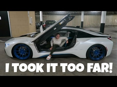 Bought My Girlfriend A Bmw I8 Prank Early Christmas Gift Youtube
