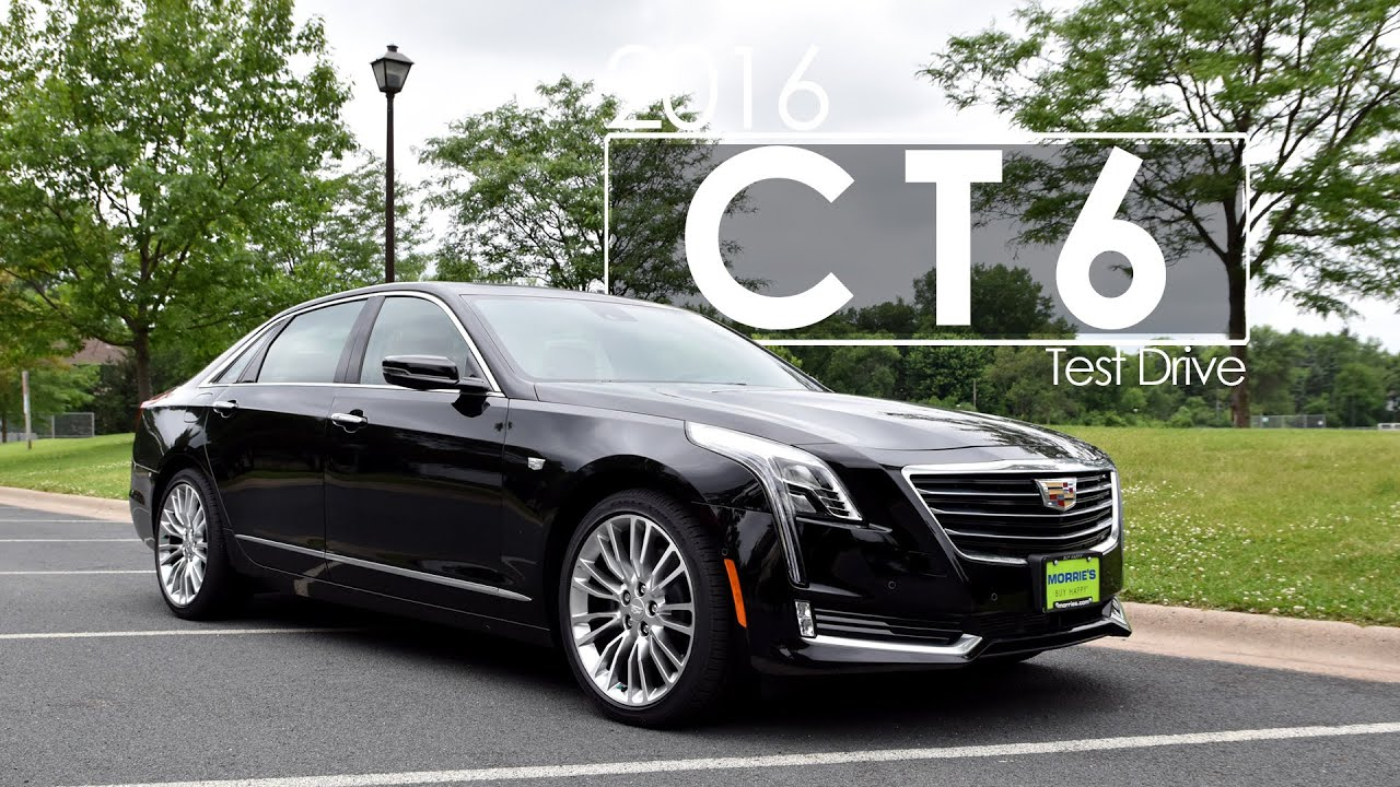 2016 cadillac ct6 review test drive youtube. Black Bedroom Furniture Sets. Home Design Ideas