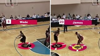 RARE FOOTAGE OF D-WADE VS. LEBRON JAMES IN SUMMER LEAGUE! (2003)