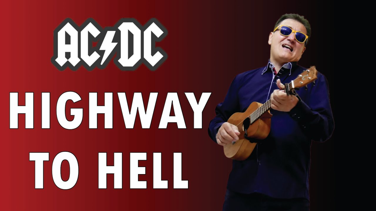ACDC - Highway To Hell - ukulele - cover by - Enyedi Sándor