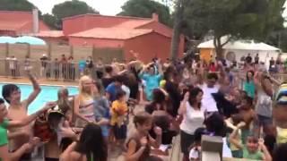 Harlem shake camping la côte des roses