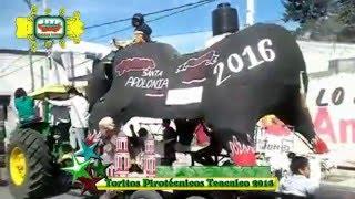 Toritos Pirotécnicos Santa Apolonia Teacalco 2016