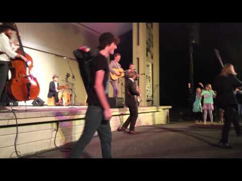 Steep Canyon Rangers play the Blue Ridge Music Center