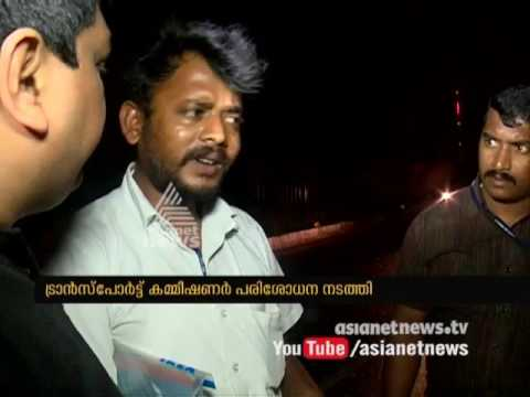 Thachankary's surprise raid at Palakkad Check Post