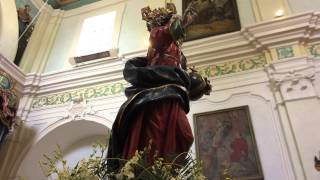 Il SS. Salvatore rientra in Chiesa insieme a Maria e a Giuseppe