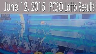 PCSO Lotto Results June 12, 2015 (6/58, 6/45, 4D, Swertres & EZ2)