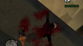 GTA SA + Ragdoll + alchohol = DEATH