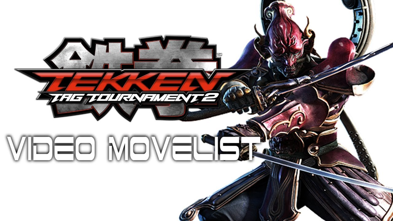 Tekken tag tournament 2 yoshimitsu video movelist youtube