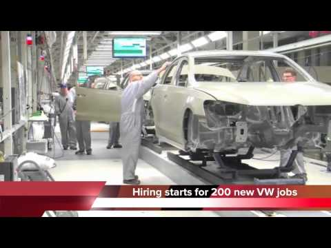Hiring starts for 200 jobs at Chattanooga VW plant