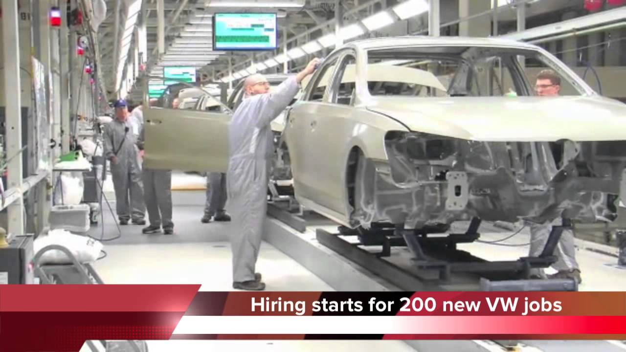 Volkswagen Chattanooga Jobs >> Hiring Starts For 200 Jobs At Chattanooga Vw Plant