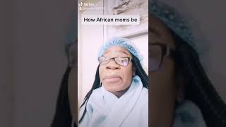 Moses challenge. Tiktok got me doing things???? how African moms be????
