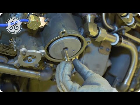 CFM56-5B - Oil Filter replacement - GE Aviation Maintenance Minute