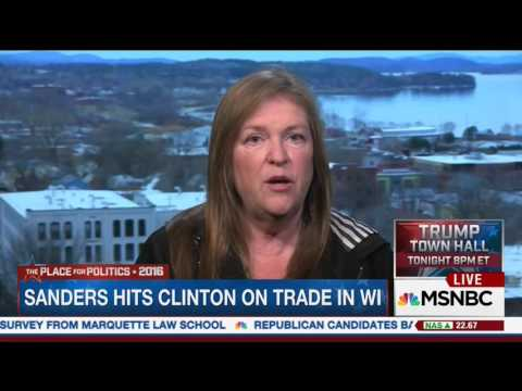 Jane Sanders Faults Hillary Clinton For Flip Flopping On Trade