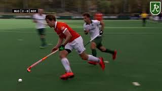 Hoofdklasse Hockey - Bloemendaal - HC Rotterdam 3-1